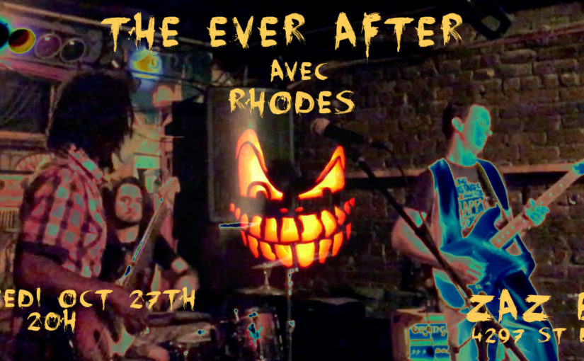 The Ever After - Halloween 2017 at Zaz Bar